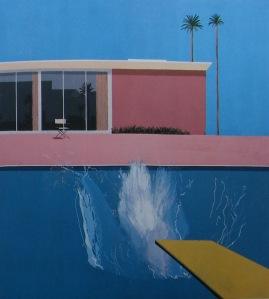 """David Hockney's painting """"A Bigger Splash"""""""