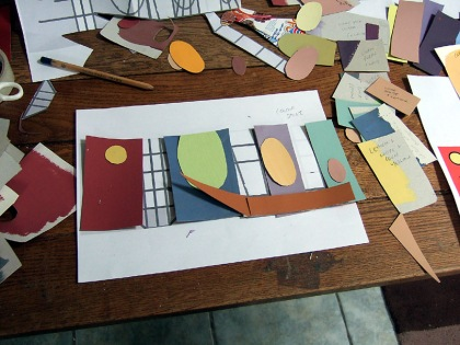 Experimenting with Different Tones and Colour Combinations at the Design Stage