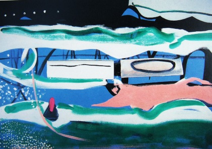 Peter Lanyon Clevedon Night 1964