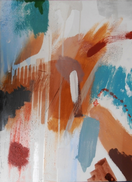 non objective lyrical abstraction contemporary british fine painting