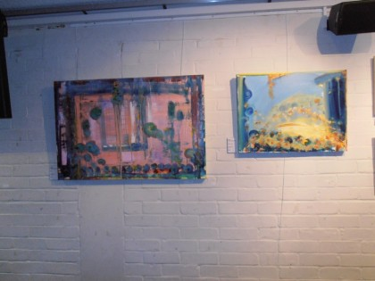 Nigel Prabhavalkar's paintings at Order and KAOS  painting exhibition