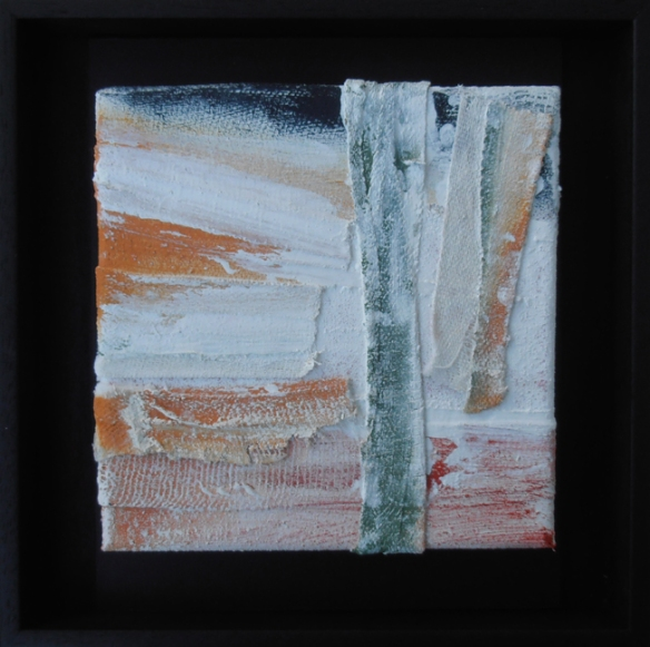 Jenny Meehan wellbeing and mental health,art and healing, art and recovery, painting and psychological wellbeing,painting and psychotherapy,painting and recovery ptsd,Bandage Box painting on show at Recovery University of Leicester Institute of Mental Health