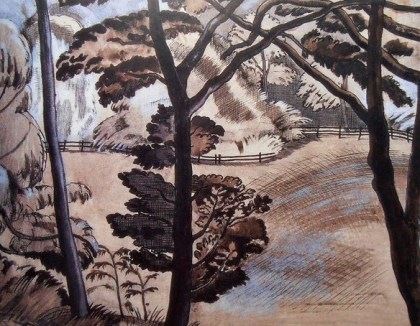 Paul Nash Edge of the Wood Silverdale 1915