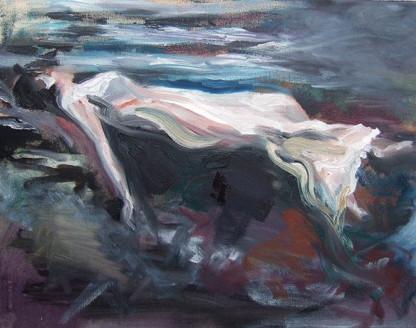 save our souls oil painting based on an image by frissel jenny meehan personal painting experiment english contemporary woman ophelia floating in water, woman in the water painting from frissel photograph,