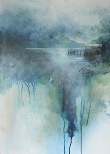 Still Waters 1- Jude Wild, sacred spaces exhibition leatherhead theatre