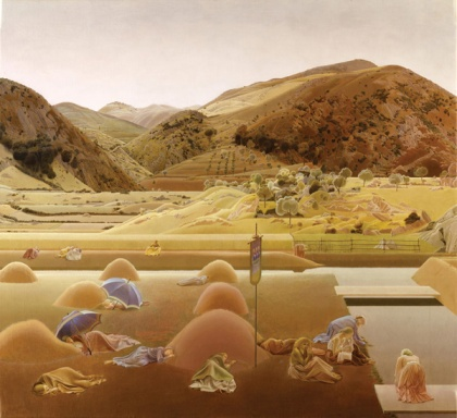 santissima trinita 1927 winifred knights female british painter