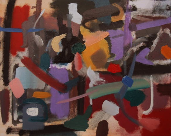 Whatever You Want - Abstract painting by Jenny Meehan