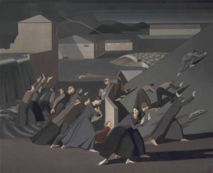 The Deluge 1920 by Winifred Knights 1899-1947