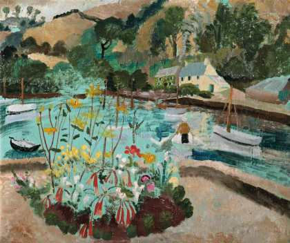 Winifred Nicholson, Summer1928. copyright The Trustees of Winifred Nicholson