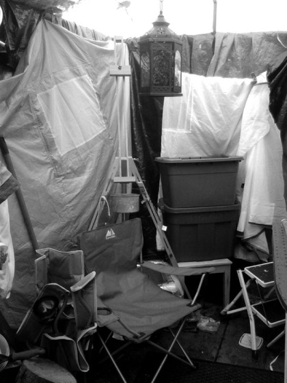 Jenny Meehan's Studio Tent for Painting