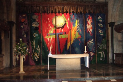 john piper tapestry at chichester cathedral