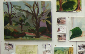mark cazalet course west dean 2007  students work