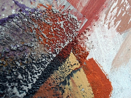 british modern abstraction lyric expressionpainting acrylic detail jenny meehan