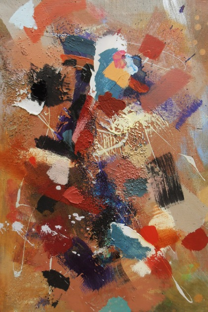 british collectable abstract paintings