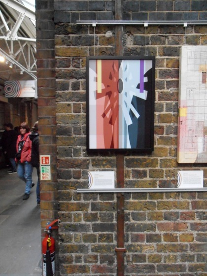 drawn together by jenny meehan, art at tower bridge, abstract art female artist, feminist artist, contemporary women artists, contemporary female artists, jamartlondon,building bridges the female perspective art exhibition tower bridge engine rooms jenny meehan