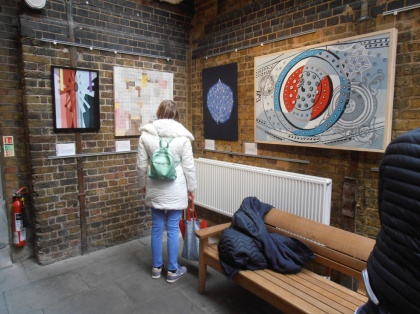 building bridges the female perspective art exhibition tower bridge engine rooms jenny meehan, all female art exhibition london, contemporary women artists british, jenny meehan jamartlondon, all woman art exhibition,