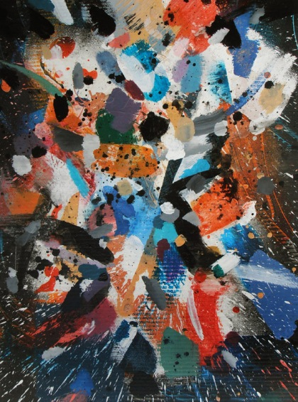 jenny meehan waterfight mad moment abstract painting jamartlondon, christian spirituality visual artist female 21st century abstract expressionist spiritual poetry painting poet-painter jenny meehan, contemplative art practice meditation images,
