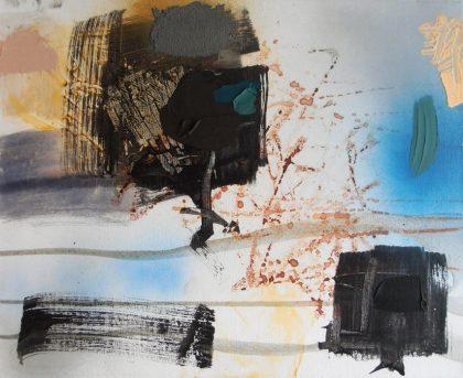 Debris painting by Jenny Meehan