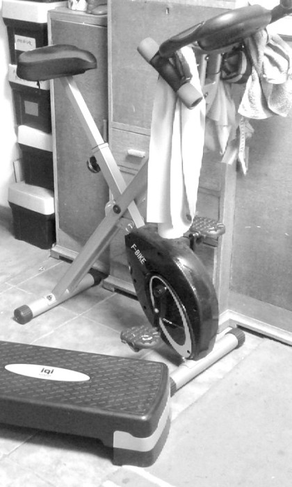 exercise bike TKR rehab