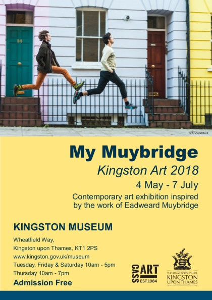 Kingston Arts at Kingston Museum My Muybridge exhibition surrey cultu