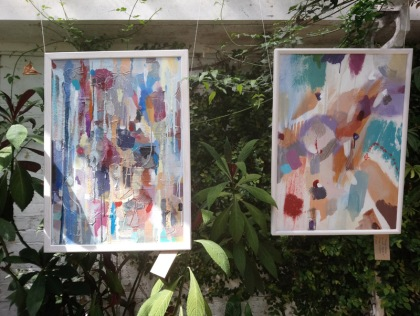 kingston artists open studios jenny meehan paintings in situ