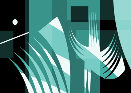 © Jenny Meehan. All Rights Reserved,leap of faith by jenny meehan abstract geometric print, digital print, faith spirituality,christian art,