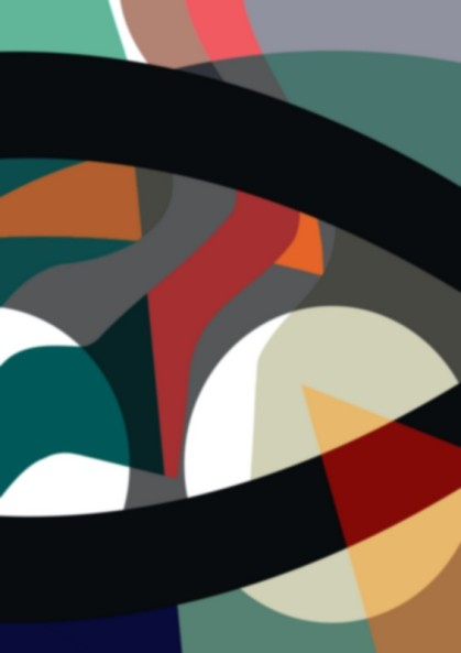 new start, digital print, jenny meehan, geometric abstraction, © Jenny Meehan. All Rights Reserved,