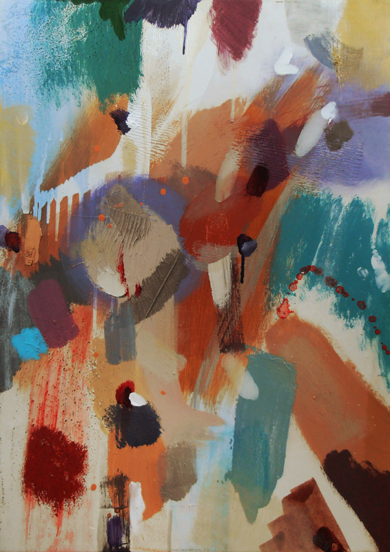 Trinity British painting Lyrical Abstraction style by artist designer jenny meehan jennyjimjams colour original abstract artwork to buy and image licensing ©Jenny Meehan