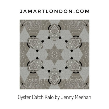 jenny meehan jamartlondon Kalo Kaleidoscope art design geometric abstract surface pattern on redbubble to buy affordable british contemporary artist