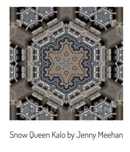 jenny meehan Kalo Kaleidoscope art design geometric abstract surface pattern on redbubble to buy affordable british contemporary artist©jenny meehan