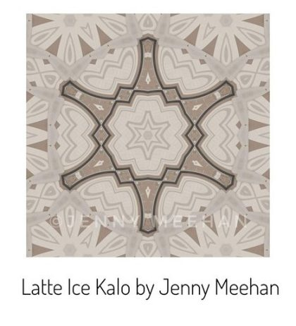 ©jenny meehan jenny meehan jamartlondon Kalo Kaleidoscope art design geometric abstract surface pattern on redbubble to buy affordable british contemporary artist