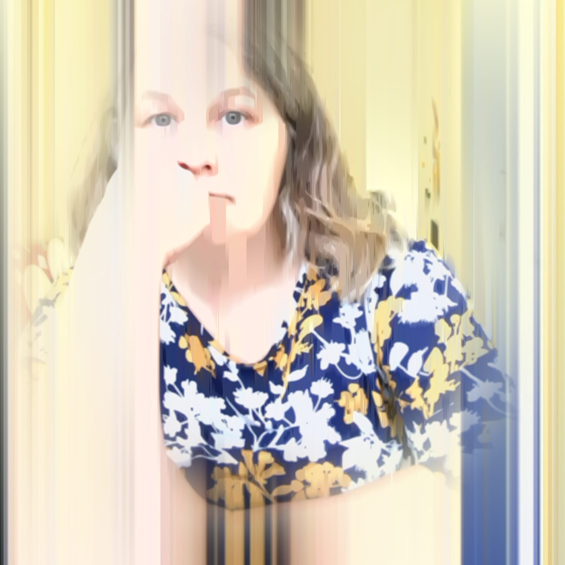 Jenny Meehan AKA jennyjimjams self portrait 2021