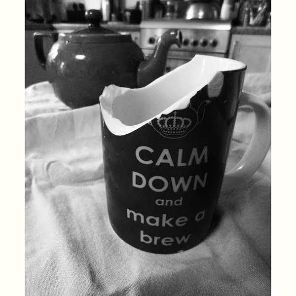 Calm down photograph by Jenny Meehan ©Jenny Meehan anet management, home, anger, female anger, keep calm and carry on image,